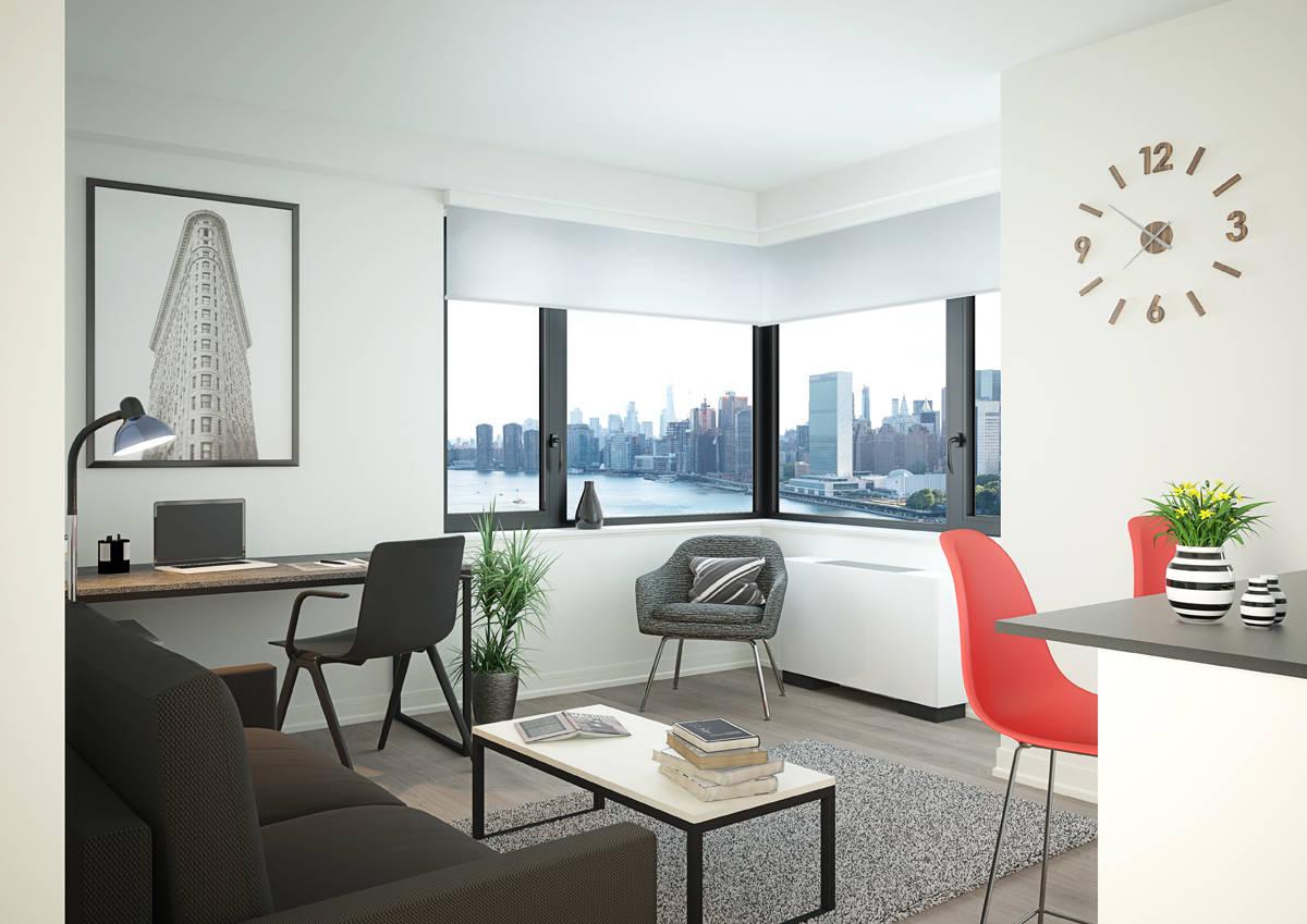 One Bedroom Living Area