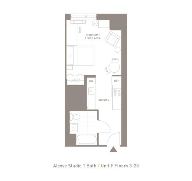 Alcove Studio - Unit F