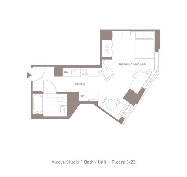 Alcove Studio - Unit H